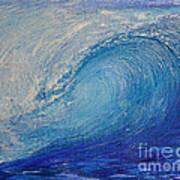 Wave Study Art Print