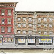 Waverly Diner In Greenwich Village Art Print