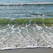 Waves At 7 Am Art Print