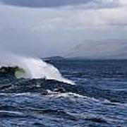 Waves In Easkey 2 Art Print by Tony Reddington