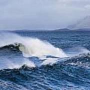 Waves In Easkey 4 Art Print by Tony Reddington