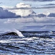 Waves In Easkey Art Print by Tony Reddington