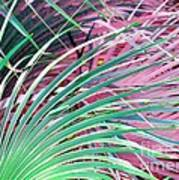 Waves Of Palm Art Print