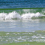 Waves Of The Gulf Of Mexico Art Print