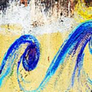 Waves On A Wall Art Print