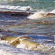 Waves - Wind - Fury Of The Sea Art Print