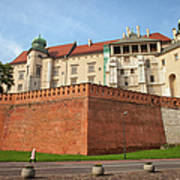 Wawel Royal Castle In Krakow Art Print