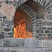 Way To The Fireplace Art Print