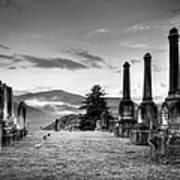 Waynesville Green Hill Cemetery Art Print