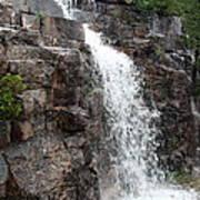 Wayside Waterfall I - Acadia Np Art Print