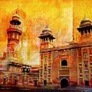 Wazir Khan Mosque Art Print