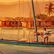 We Be Sailing Art Print
