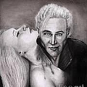 James Art Print by Rosalinda Markle