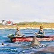 We Need A Biggah Boat Art Print
