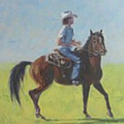 We Save Horses Three Art Print