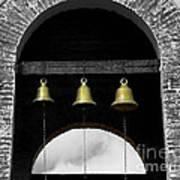 We Three Bells Art Print