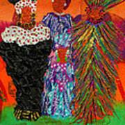 We Women Folk Art Print