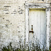 Weathered Door Art Print by Diane Diederich
