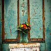 Weathered Door Art Print by Patty Descalzi