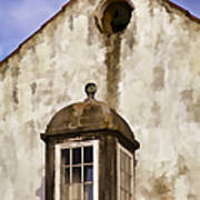 Weathered Home Of Old World Europe Art Print