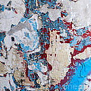 Weathered Wall 02 Art Print