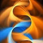 Weaving Color  Art Print