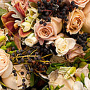 Wedding Bouquets 02 Art Print