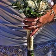 Wedding Flowers Art Print
