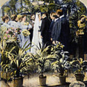 Wedding Party, 1897 Art Print