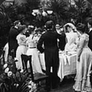 Wedding Party, 1904 Art Print