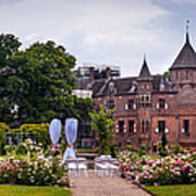Wedding Setting In De Haar Castle. Utrecht Art Print