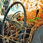 Weedy Steering Art Print