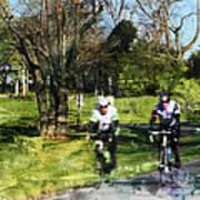 Weekend Riders Art Print