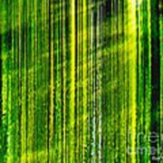 Weeping Willow Tree Ribbons Art Print