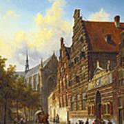Weeshuis In Leiden Art Print
