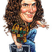 Weird Al Yankovic Art Print