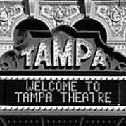 Welcome Tampa Art Print