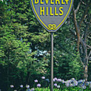 Welcome To Beverly Hills Art Print