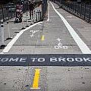 Welcome To Brooklin Art Print