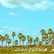 Welcome To Daytona Beach Art Print