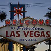Welcome To Fabulous Las Vegas Art Print