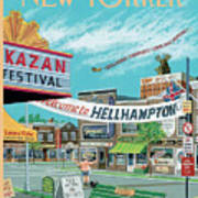 Welcome To Hellhampton Art Print