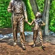 Welcome To Mayberry Art Print by Dan Stone
