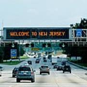 Welcome To New Jersey Art Print