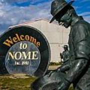Welcome To Nome Art Print