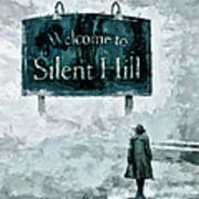 Welcome To Silent Hill Art Print