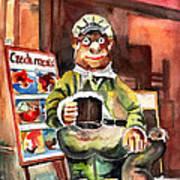 Welcome To The Czech Republic 04 Art Print