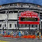 Welcome To Wrigley Field Art Print