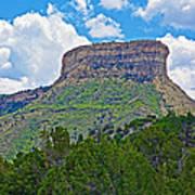 Welcoming Mesa To Mesa Verde National Park-colorado- Art Print
