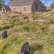 Welsh Tombs Art Print